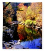 Splendor Of Autumn Fleece Blanket