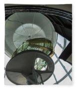 Split Rock Lighthouse Lens Fleece Blanket