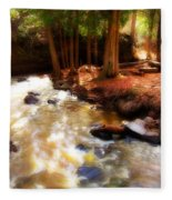 Split Rock River Fleece Blanket