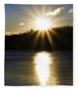 Splitrock Sunrise Fleece Blanket