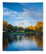 Spokane Reflections Fleece Blanket