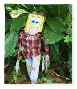 Sponge Bob Scarecrow Fleece Blanket