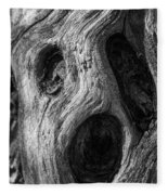 Spooky Tree Fleece Blanket