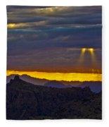 Spot Lights Fleece Blanket