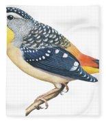 Spotted Diamondbird Fleece Blanket