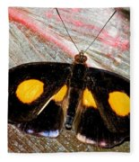 Spotted Grecian Shoemaker Butterfly Fleece Blanket