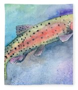 Spotted Trout Fleece Blanket