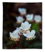 Spotted Wintergreen 4 Fleece Blanket