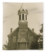 Sprague Church 2 Fleece Blanket