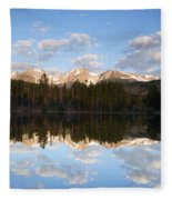 Sprague Lake 2 Fleece Blanket