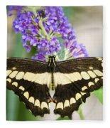 Spread Your Wings My Little Butterfly  Fleece Blanket