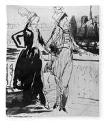 Sprinchorn Women, 1914 Fleece Blanket