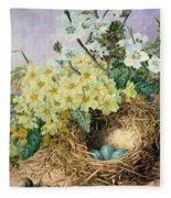 Spring, 1879 Fleece Blanket