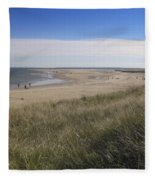Spring At Crane Beach Fleece Blanket