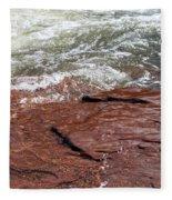 Spring At Sedona In Spring Fleece Blanket