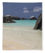 Spring Bay Fleece Blanket