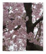 Spring Beauty Fleece Blanket