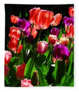 Spring Blossom 5 Fleece Blanket