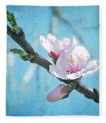 Spring Blossom Fleece Blanket
