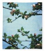 Spring Blossoms 2.0 Fleece Blanket
