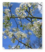 Spring Blossoms 2014 Fleece Blanket