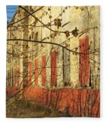 Spring Buds And Urban Decay 3 Fleece Blanket