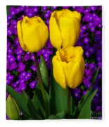 Spring Colours Fleece Blanket