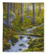 Spring Creek Fleece Blanket