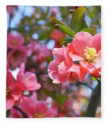 Spring Everywhere Fleece Blanket