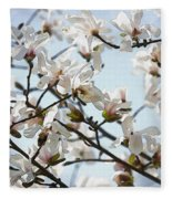 Spring Flora Fleece Blanket