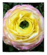 Spring Flower 3 Fleece Blanket