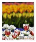 Spring Flowers 11 Fleece Blanket