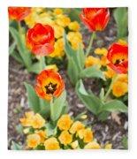 Spring Flowers No. 6 Fleece Blanket