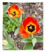 Spring Flowers No. 7 Fleece Blanket