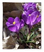 Spring Glory Fleece Blanket