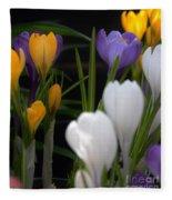 Spring Glow Fleece Blanket