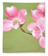Spring Harbinger Fleece Blanket