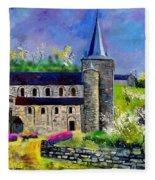 Spring In Celles  Fleece Blanket