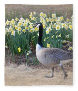 Spring In My Strut Fleece Blanket