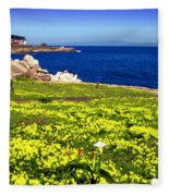 Spring In Pacific Grove Ca Fleece Blanket
