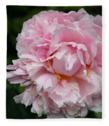 Spring In Pink Fleece Blanket
