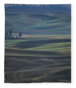 Spring In The Palouse Fleece Blanket