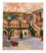 Spring In Tlaquepaque Fleece Blanket