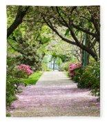Spring In Washington Dc Fleece Blanket