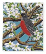 Spring Is Coming  Fleece Blanket