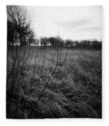 Spring Is Near Holga Photography Fleece Blanket