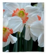 Spring Jonquils Fleece Blanket