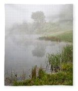 Spring Mist Fleece Blanket