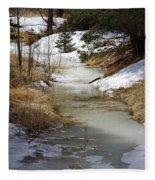 Spring Overflow Fleece Blanket