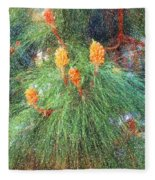 Spring Pine Fleece Blanket